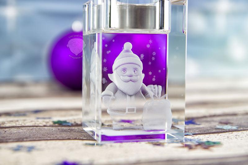 Teelichthalter-für-Weihnachten-Weihnachtsmann