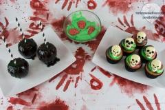 Halloween-Grusel-Buffet