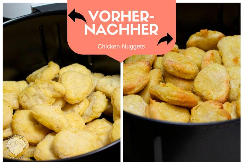 Vorher-Nachher-Nuggets-NUTRILOVERS-Heißluftfritteuse