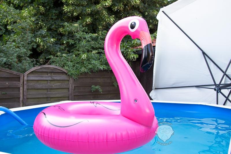 Sommer-Gummitier-Flamingo-Wasserspielzeug