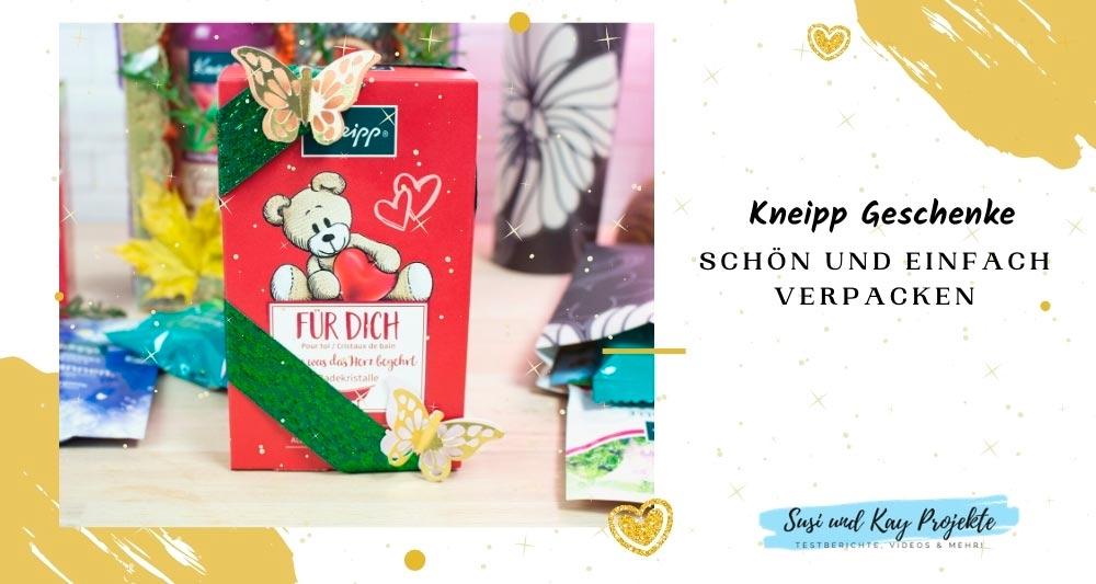 Kopie von Kneipp Geschenke schön und einfach verpacken