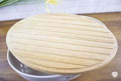 Küchenaccessoires-Brottopf-Deckel