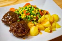 Fertige-Mahlzeit-Onyx-Bratpfanne