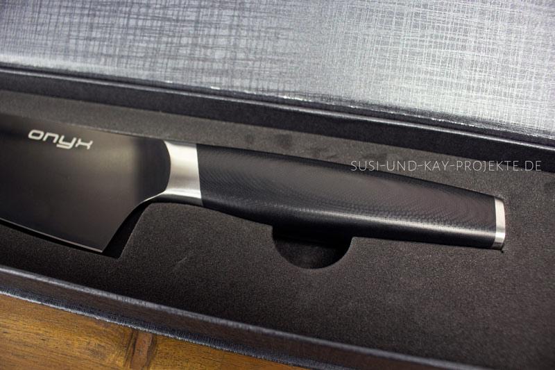 Onyx-Messer-Glasfasergriff
