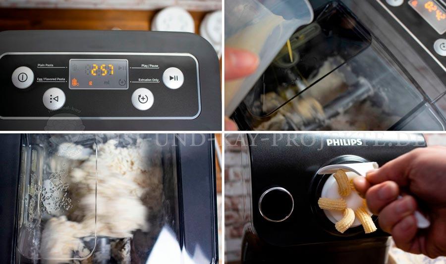 Philips-Pasta-Maker-Herstellung