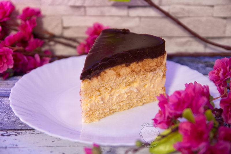 Pudding-Torte