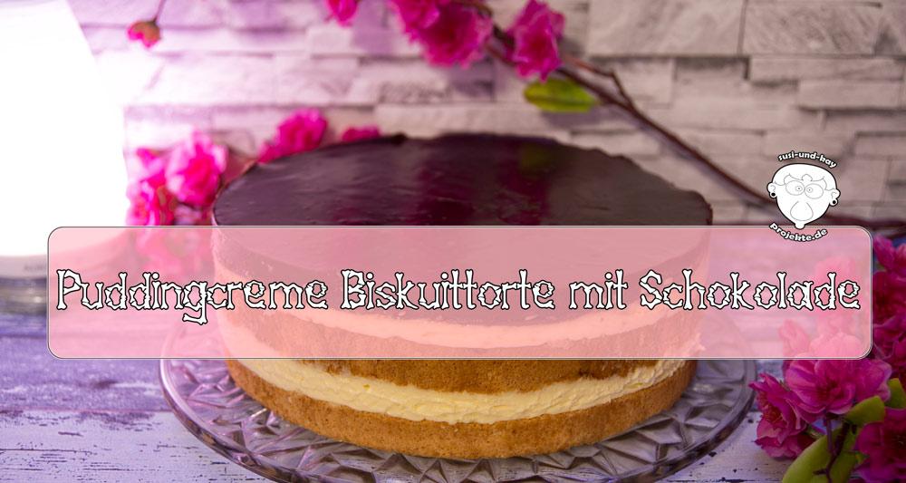 Puddingcreme-Biskuittorte-mit-Schokolade