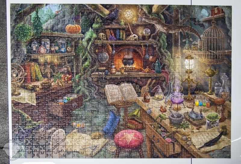 Ravensburger-EXIT-Puzzle-Hexenküche-alle-Teile