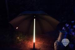 Regenschirm-Rot