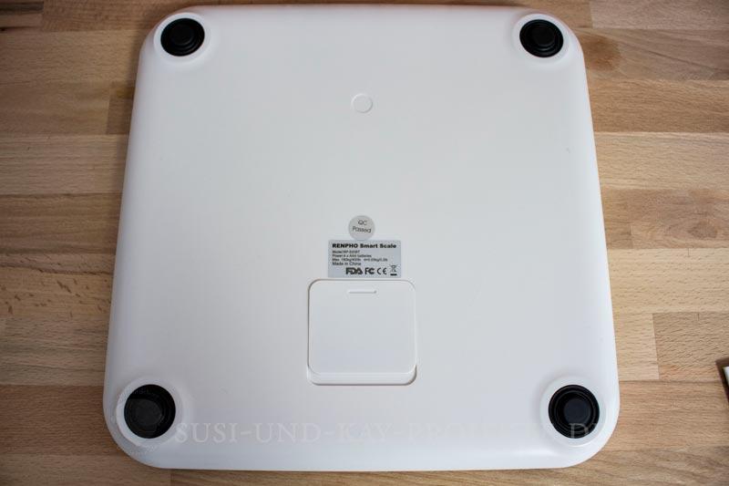 RENPHO-Gesundheit-Bluetooth-Waage-Rückansicht
