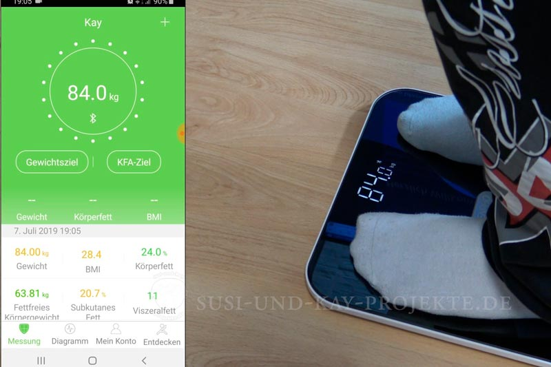 RENPHO-Gesundheit-Körperanalyse-App-Auswertung