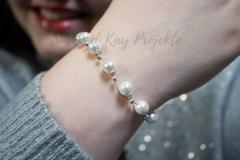 Muschelperlen-Schmuck-Armband-weiß