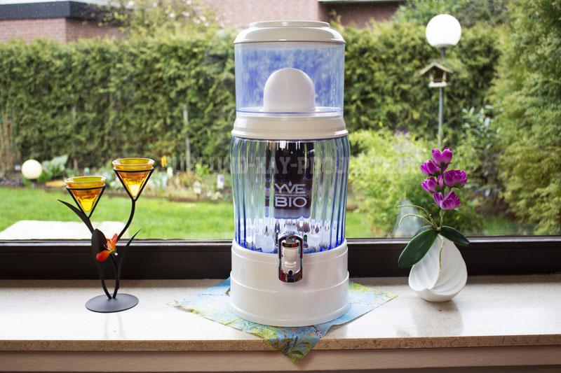 YVE-BIO-Wasser-Filter-Produkttest