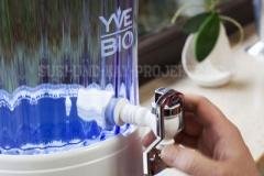 Hahn-anbringen-YVE-BIO-Wasser-Filter