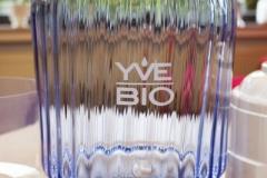 YVE-BIO-Wasser-Filter-unterer-Tank-Blau